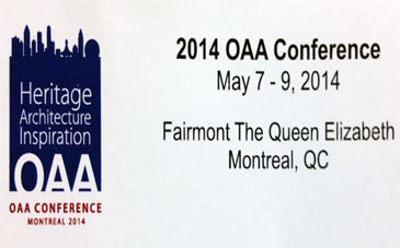 o.a.a 2014 Annual Conference Dhir Zeidler